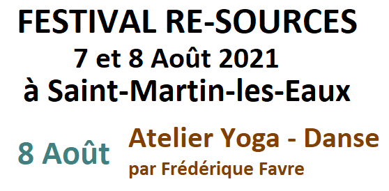 Atelier Yoga-danse par F. Favre