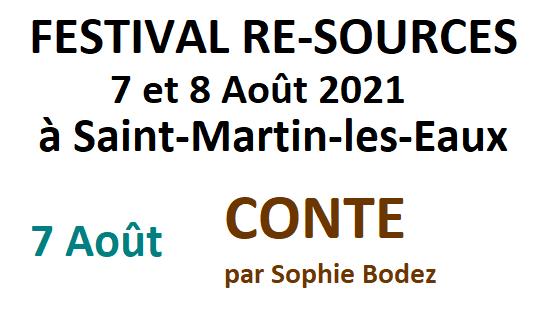 Conte par Sophie Bodez