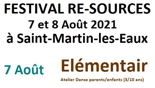 Elément'air - Atelier Danse parents/enfants