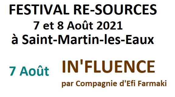 In'fluence - Compagnie d'Efi Farmaki