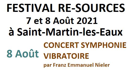 Concert Symphonie vibratoire